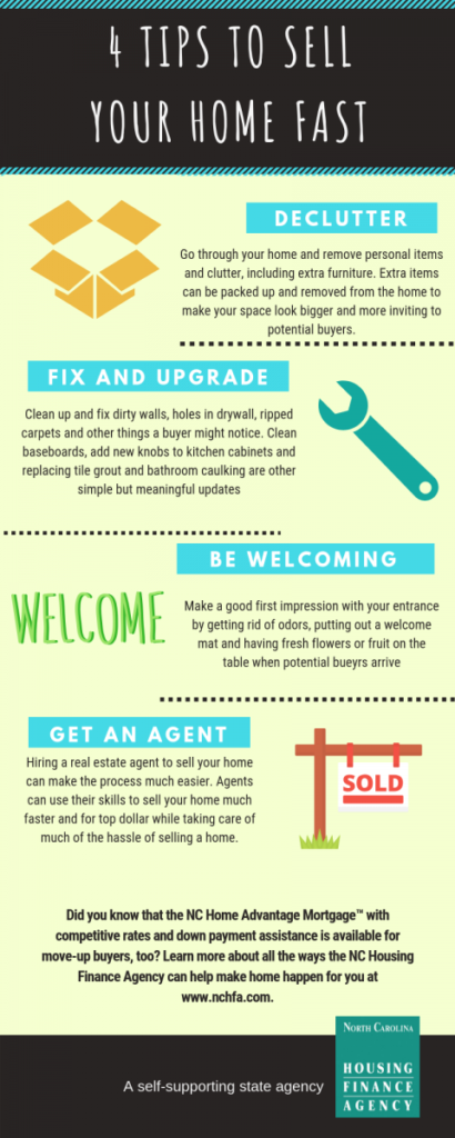 4 Tips to Sell Your Home Fast!