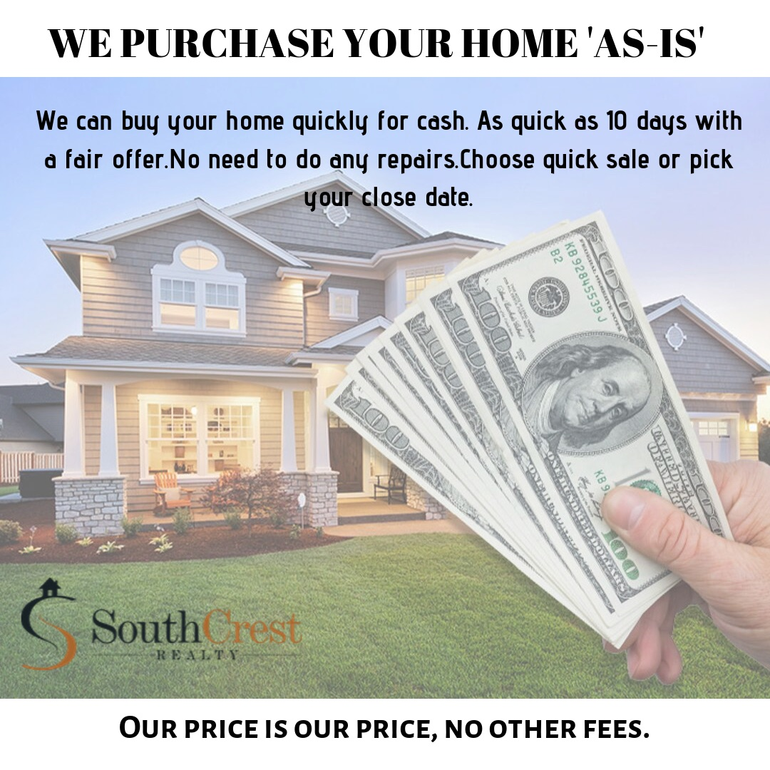 WE PURCHASE YOUR HOME