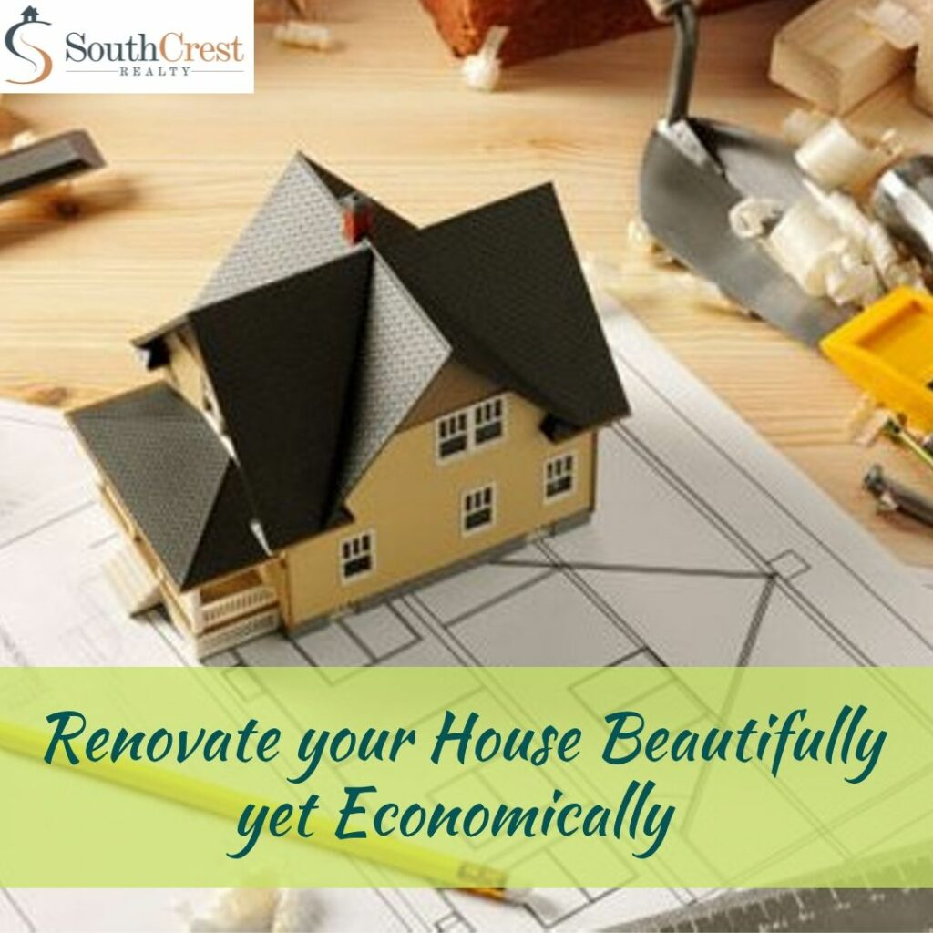 Tips to Renovate your House Beautifully yet Economically